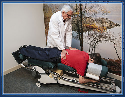 Chiropractic Adjustment by Dr. Donald J. Krippendorf, D.C.