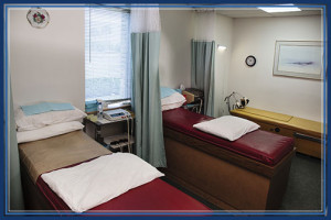 Treatment Rooms for physical therapy at Florida Chiropractic Institute